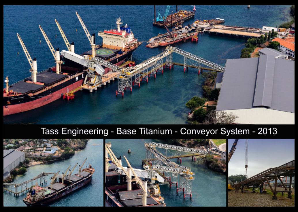 Base Titanium - Conveyor System