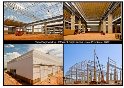 Tass - Efficient Engineering New Premise Collage