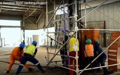 Tass-Aeroton Roof Jacking