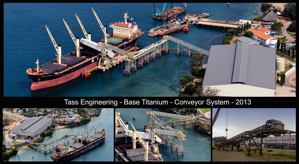 Base Titanium Conveyor System